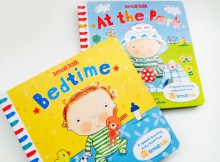 Book Review: At The Park & Bedtime Small Talk Books A Mum Reviews