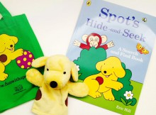 Book Review & Giveaway: Spot's Hide-and-Seek by Eric Hill A Mum Reviews