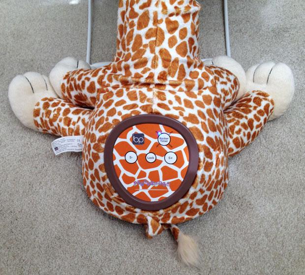 Sleepybobo Gerry the Giraffe Portable Baby Rocker Review A Mum Reviews