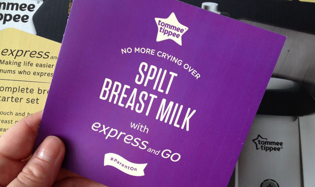 Expressing Breastmilk Made Easy with Tommee Tippee Express & Go A Mum Reviews