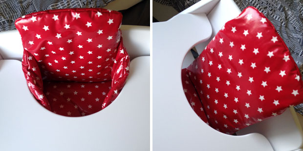 Messy Me Highchair Insert Cushion Review A Mum Reviews