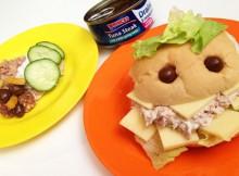 Halloween Lunch - Princes Tuna Monster Rolls & Tasty Mini Beasts A Mum Reviews