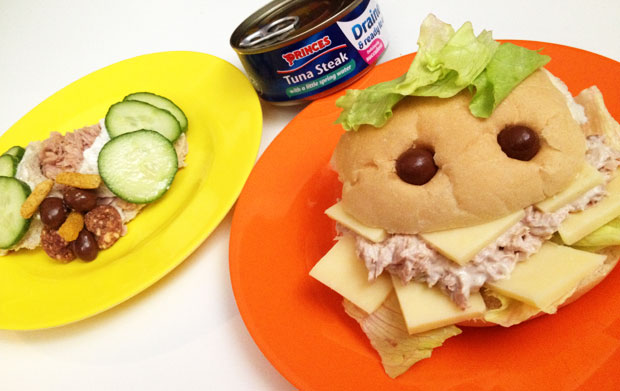 Halloween Lunch - Princes Tuna Monster Rolls & Tasty Mini Beasts A Mum Reviews