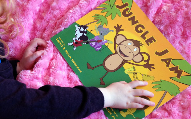 Jungle Jam Book Review - A Musical Children's Book A Mum Reviews