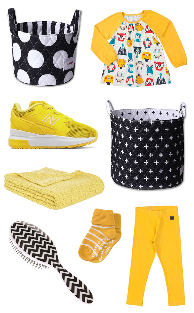 Monochrome & Yellow Wish List - Baby & Toddler Stuff A Mum Reviews