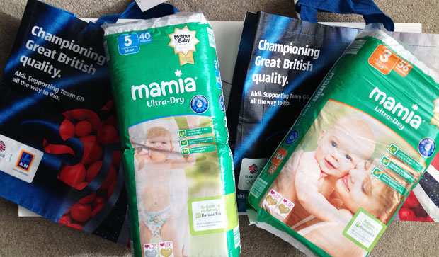 NEWS – Barnardo's Logo is Now on ALDI's Mamia Nappies! A Mum Reviews
