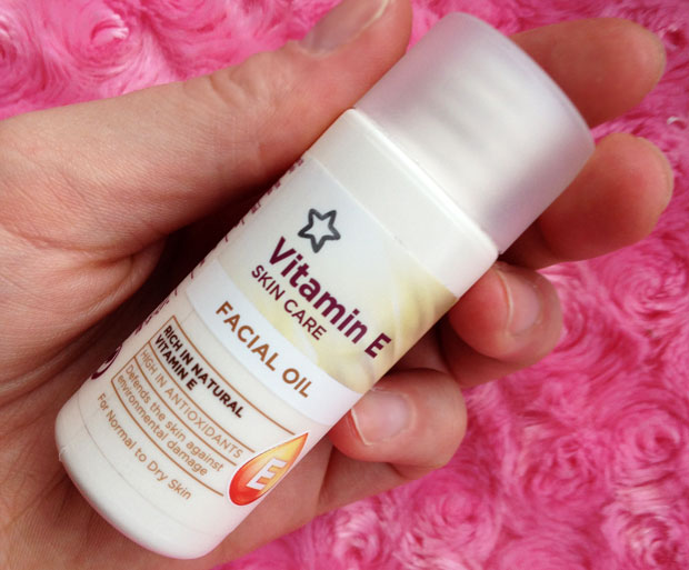 Winter Heroes from Superdrug - Vitamin E Facial Oil & Super