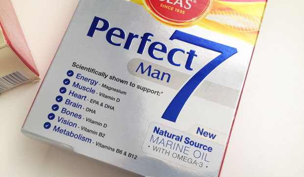 His & Hers Supplements - Seven Seas Perfect7 Man & Woman Review A Mum Reviews