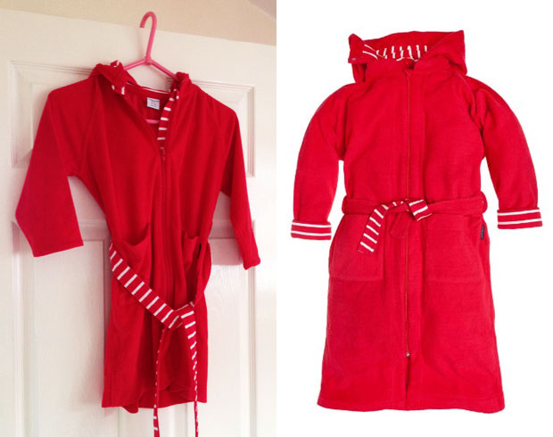 Polarn O. Pyret Kids Dressing Gown / Bath Robe Review A Mum Reviews