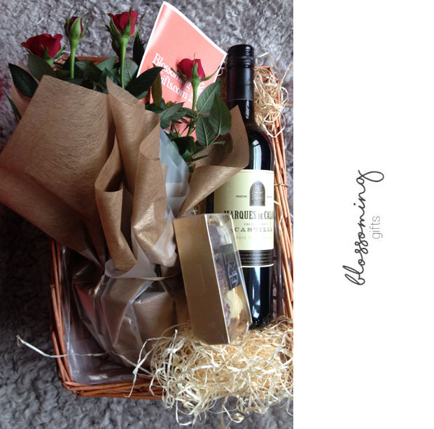 Blossoming Gifts Christmas Red Wine Hamper Review + Giveaway A Mum Reviews
