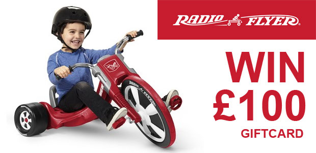 Giveaway - Win £100 to Spend at on Classic Ride-On From Iconic Radio Flyer! A Mum Reviews