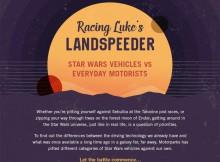 Racing Luke's Landspeeder - Star Wars Vehicles vs Everyday Ones A Mum Reviews