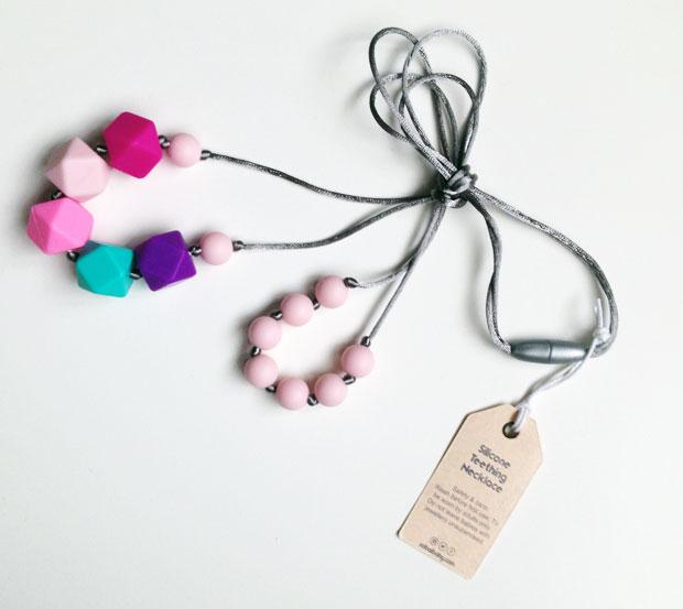 Sabai Sabai Silicone Teething Necklace Review A Mum Reviews