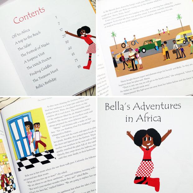 Bella's Adventures in Africa by Rebecca Darko & Rutendo Muzambi A Mum Reviews