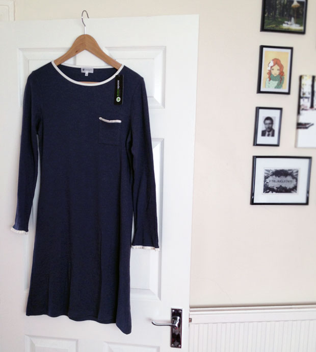 Black Spade Fits Perfect Ribbed Jersey Nightdress Review A Mum Reviews