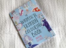 The Whimsical Fashion Colouring Book by Natasha Itzcovitz Review A Mum Reviews