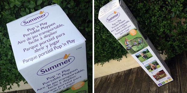 Summer Infant Pop N' Play Portable Playpen Review A Mum Reviews