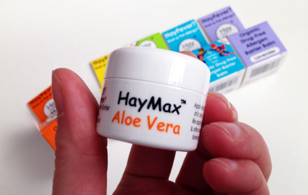 HayMax Organic, Drug-Free Allergy Barrier Balm Review & Giveaway A Mum Reviews