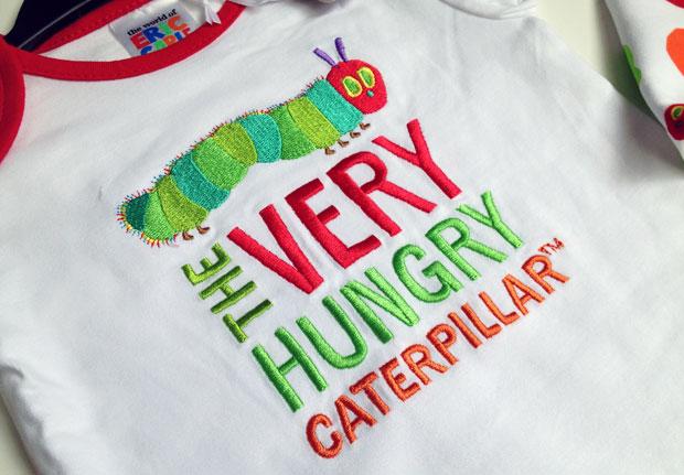 The Very Hungry Caterpillar Sainsbury's Babywear Range A Mum Reviews