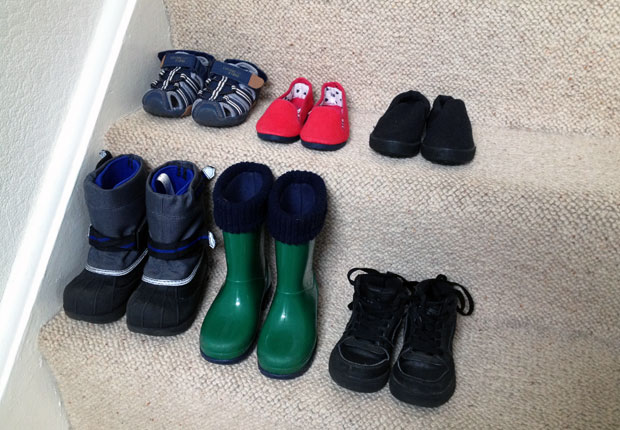 How Many Shoes Does A Child Need My Three Year Olds Shoe Wardrobe