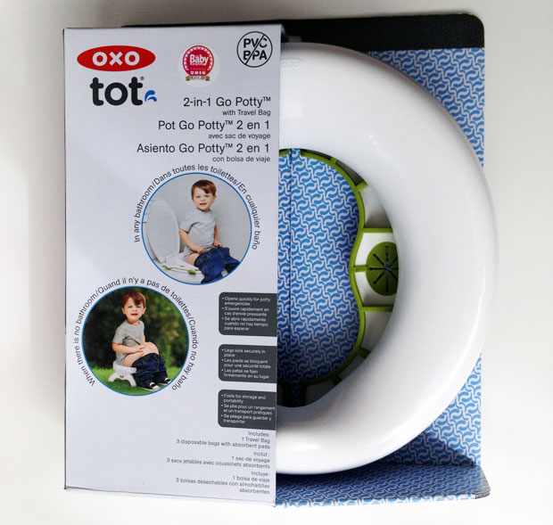 OXO Tot 2-in-1 Go Potty Review / Potty Training A Mum Reviews
