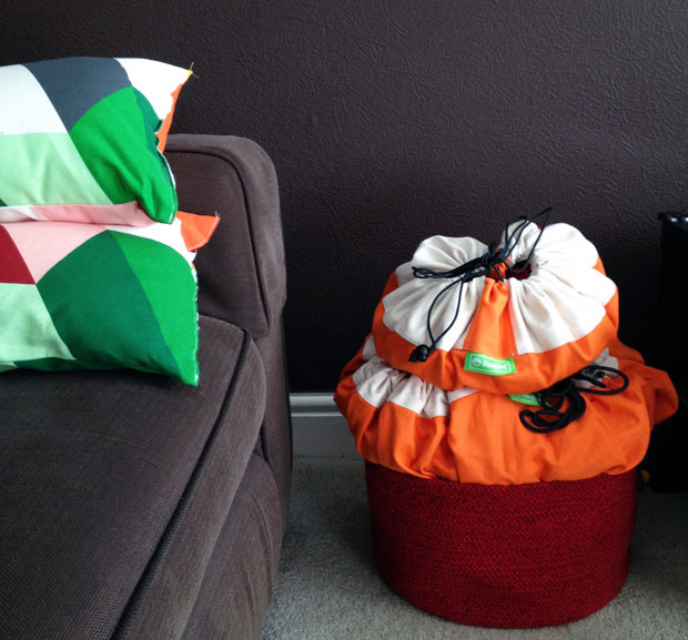 Stuffel Toy Storage Bags Review & Demonstration - Large & Mini A Mum Reviews