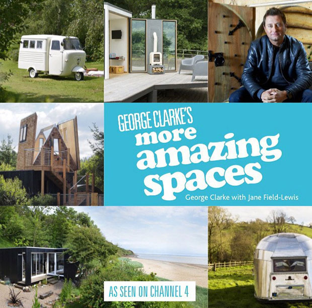 Win a Signed Copy of the Amazing Spaces Book by George Clarke A Mum Reviews