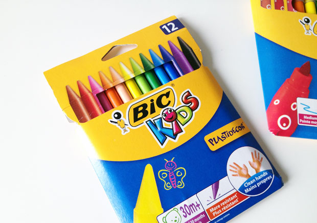 BIC KIDS Pens, Crayons & Pencils Review + Win a £50 BIC Bundle! A Mum Reviews