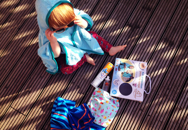 Giveaway: Win a Cuddledry SPF 50+ Poncho Towel! A Mum Reviews