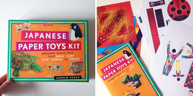 School Holidays Fun - Origami Sets from Tuttle Publishing A Mum Reviews