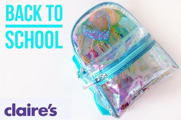 All Ready for Back to School with Claire's / Starting Pre-School! A Mum Reviews