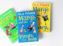 Book Review & Giveaway: Marge and the Great Train by Isla Fisher A Mum Reviews