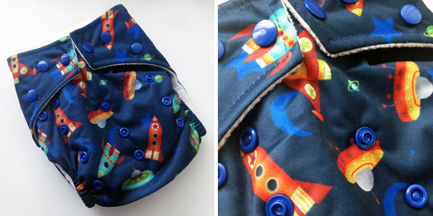 #ClothNappyMonday - Favourite Cloth Nappy | Baba+Boo One Size A Mum Reviews