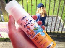 FrezyDerm Kids Sun Cream Review - Kids Sun Care SPF 50+ A Mum Reviews