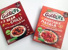 Goodlife Vegetarian Meals Review - 3 Bean Chilli & Vegetable Masala A Mum Reviews