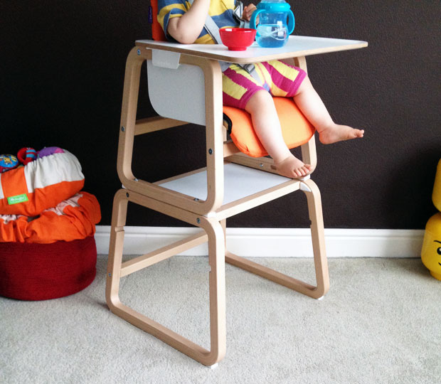 Knuma Connect 4 In 1 High Chair Review Toddler 3 Year Old A