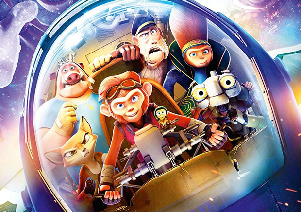 Spark DVD Review - One Small Hero. A Whole Galaxy of Adventure. A Mum Reviews