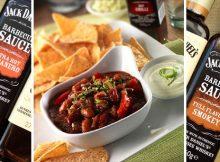 Jack Daniels Barbecue Sauces - Vegetarian Three Bean Chilli Recipe A Mum Reviews