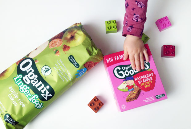 Organix Toddler Snacks — New Family Size Box & Multipacks A Mum Reviews