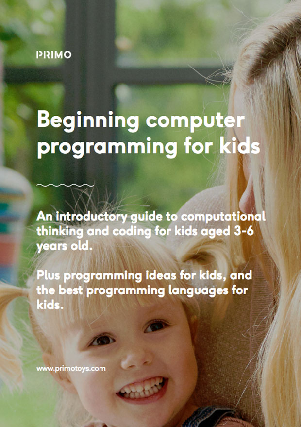 Teach Children to Code With Free Ebook From Primo Toys A Mum Reviews