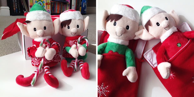 The Cheeky Elf Christmas Elf Twin Starter Pack Deluxe Review A Mum Reviews