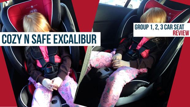 Cozy N Safe Excalibur Review + Video | Group 1, 2, 3 Car Seat A Mum Reviews