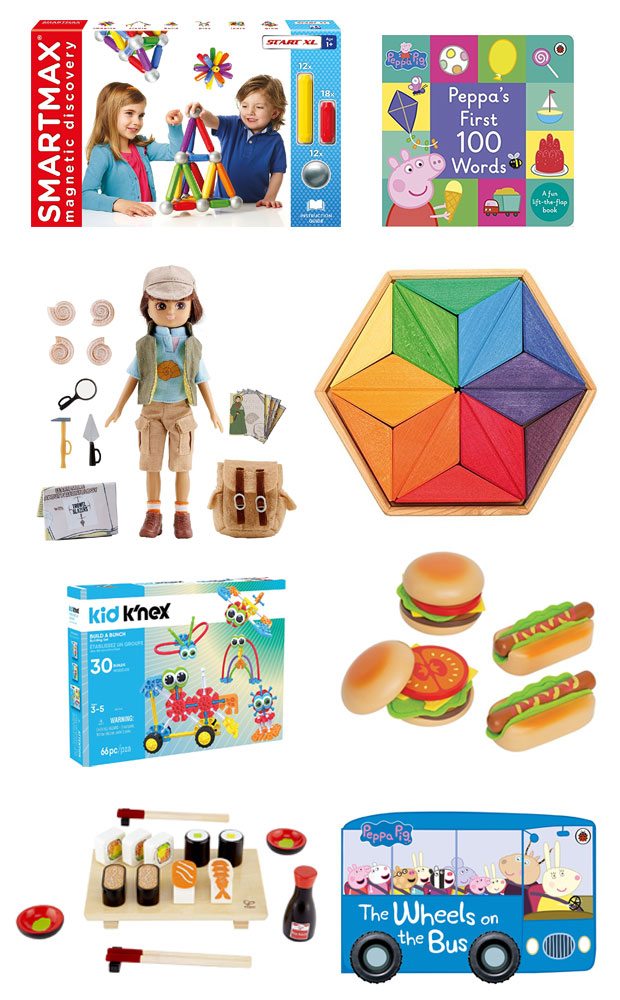 My Christmas Toy Shopping List - Gift Guides for Siblings Aged 1 & 4 A Mum Reviews
