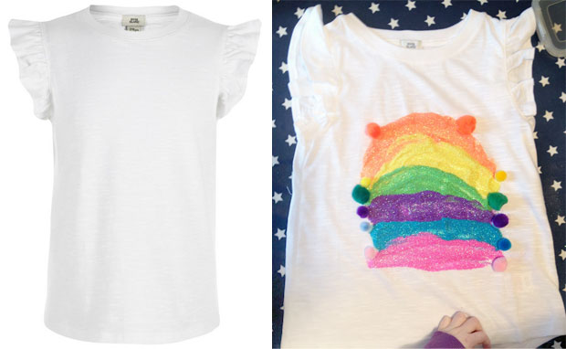 River Island - Design a T-Shirt | Children's Craft Activity A Mum Reviews