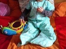 ergoPouch Spring/Autumn Sleep Suit Bag Review - 1.0 tog A Mum Reviews