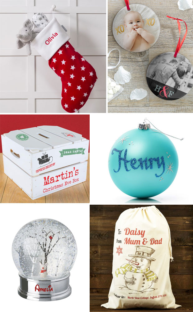 A Personalised Christmas Accessories & Decorations Guide A Mum Reviews