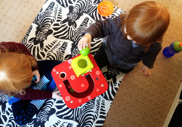 Hape Pepe & Friends Toys Review - Activity Cube & Puzzle Blocks