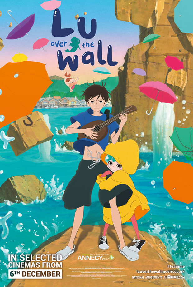 Lu Over the Wall - In Cinemas Now! Watch the New Official UK Trailer A Mum Reviews