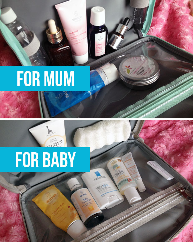 Cuddledry Baby & Me Wash Bag Review A Mum Reviews