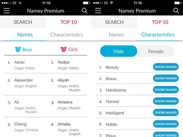 Namey Baby Naming App Review A Mum Reviews